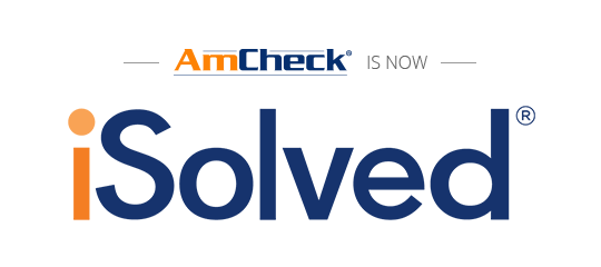 AmCheck is now iSolved HCM
